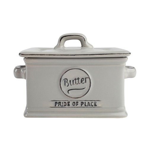 TG Pride of Place Butter Dish In Cool Grey