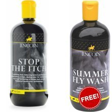 Lincoln Stop The Itch 500ml + Lincoln Summer Fly Wash 500ml FREE