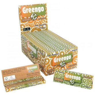 Greengo Unbleached 1¼ Box50