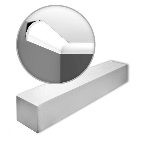 Orac Decor CB525-box-10 BASIXX Cornice mouldings 1 Box 10 pieces | 20 m