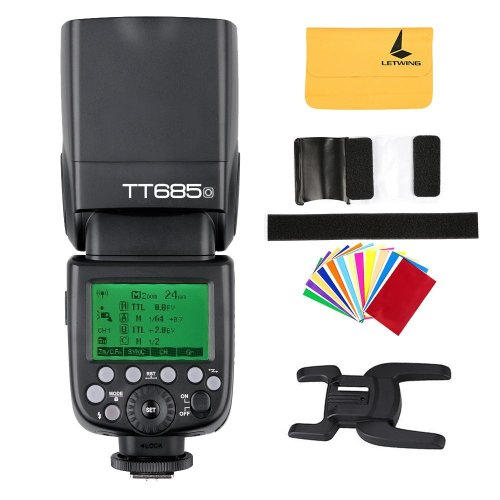 Godox TT685o TTL Flash HSS High Speed 1/8000s GN60 Camera Flash Speedlite Light for Olympus E-M10II E-M5II E-M1 E-PL8 E-PL7E-PL3 PEN-F ect. Camera...