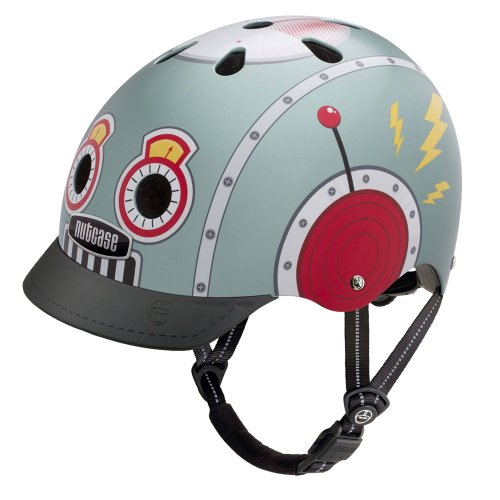 Nutcase - Street Bike Helmet for Adults, Tin Robot, Small