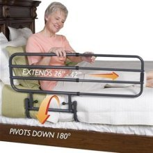 NRS Healthcare Standers EZ Adjustable Bed Support Rail (Eligible for VAT relief in the UK)