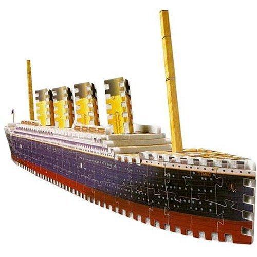 Puzz 3D Titanic: 398 Piece Puzzle