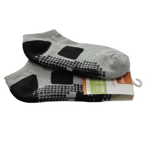 Womens Non Slip Yoga Socks Strong Grip Breathable Cotton Socks Pilates