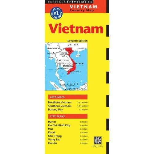 Vietnam Periplus Map (Periplus Maps)