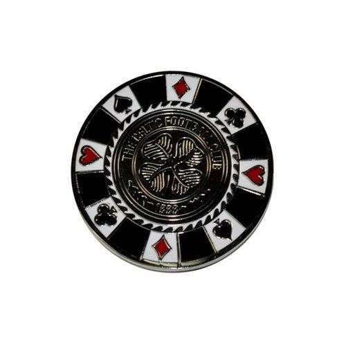 Celtic FC Official Football Crest Casino Chip Golf Ball Marker