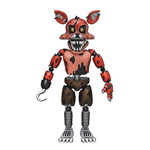 "FNAF 11846 ""Nightmare Foxy "" Action Figure"