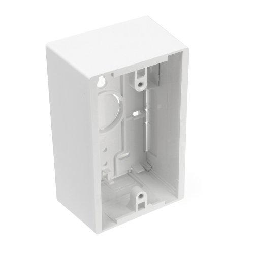 Leviton 42777 1WA Surface Mount Backbox Single Gang White 1 89