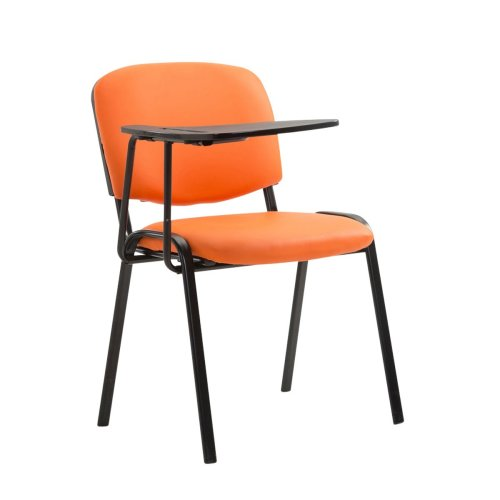 Chair Ken with folding table leatherette