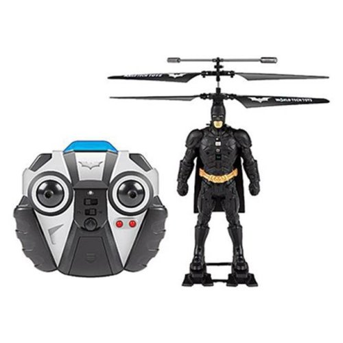 World Tech Toys 33711 3.5 Channel Batman Laser License IR Helicopter