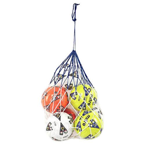 Football Soccer 10 x Ball Carry Net Bag
