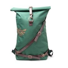 Legend of Zelda Link Belt Straps Top Loader Backpack Green/Brown (BP020102ZEL)