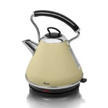 Swan Pyramid Kettle 1.7 Litre - Cream (Model No. SK34010CREN)