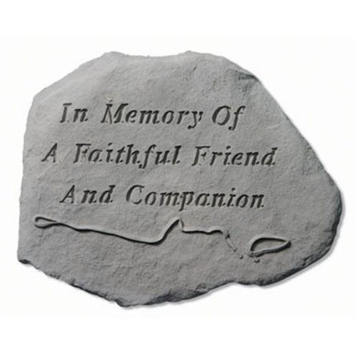 09e7de61c Kay Berry- Inc. 93720 In Memory Of a Faithful Friend - Leash And Collar  Memorial - 15.5 Inches x 11.5 Inches on OnBuy