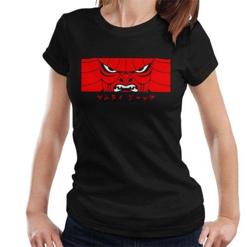 Samurai Jack Is Back Mask Women's T-Shirt