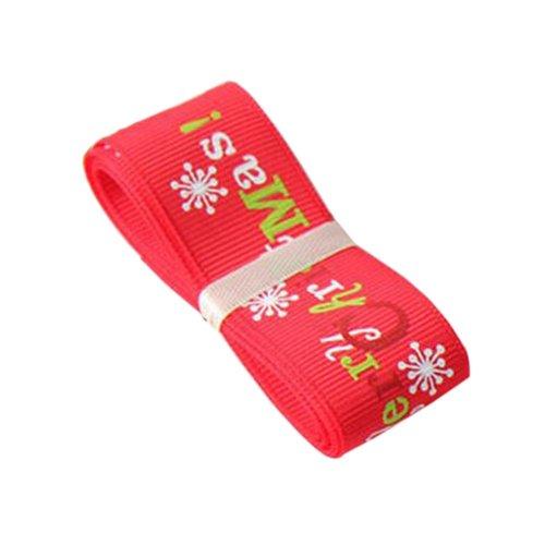 [Merry Christmas] Gift Wrapping Streamers Christmas Decor Ribbon