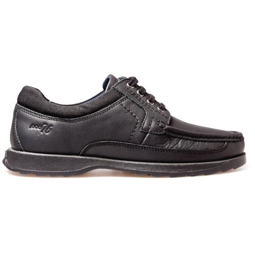 POD Boys Rally Lace School Shoes Black