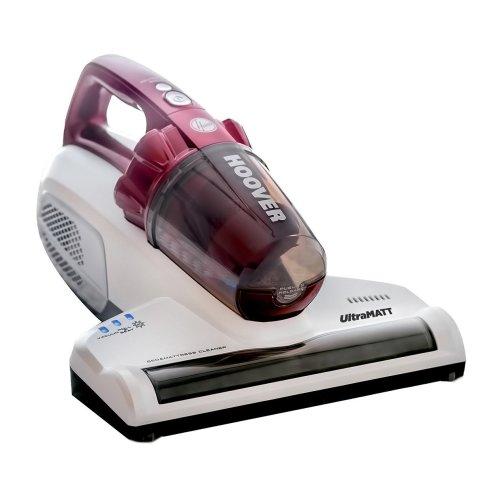 Hoover UltraMATT MBC500UV Powerful 500W Corded Mattress Vacuum Cleaner, Red & White