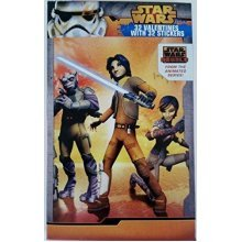 Star Wars Rebels 32 Valentines With 32 Stickers