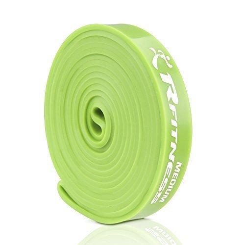 RFitness Furinno RF1506 GR Professional Long LOOP Stretch Latex Exercise Band 41 Medium Green