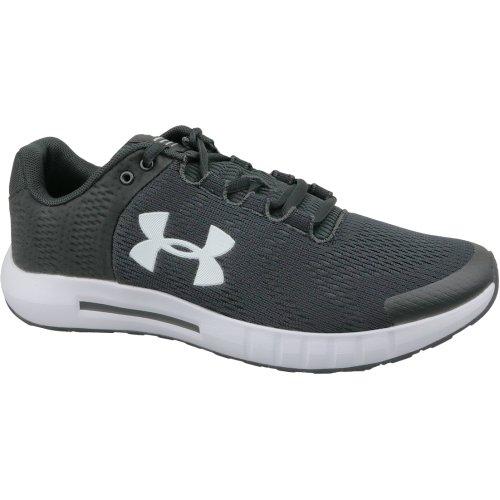 Under Armour Micro G Pursuit BP 3021953-001 Mens Black running shoes