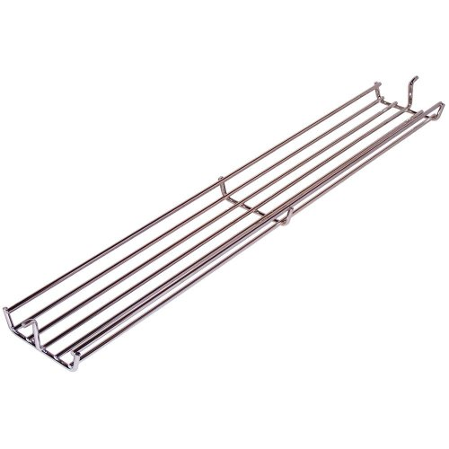 Music City Metals 02347 Chrome Steel Wire Warming Rack for Weber Brand Gas Grills - Silver