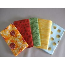 Fat Quarter Bundle - 100% Cotton - Sunny 2 - Pack of 5