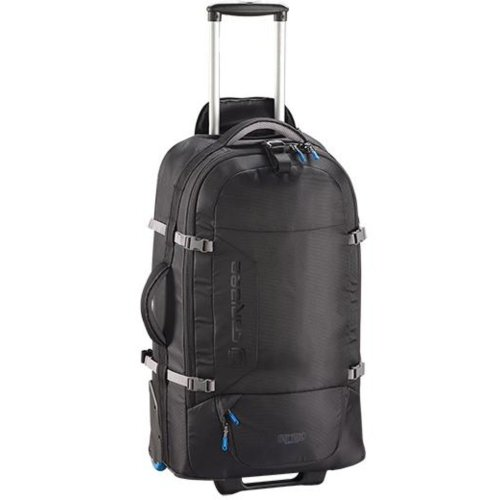 Caribee Fast Track VI 75L Wheeled Travel Pack (Black)