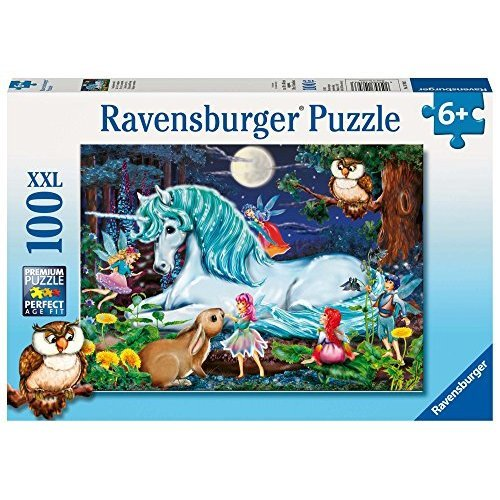 Ravensburger Enchanted Forest 100 Piece Jigsaw Puzzle for Kids Every Piece is Unique Pieces Fit Together Perfectly