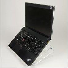 Newstar Tiltable Transparent Laptop Stand (Clear Acrylic)