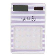 Eco-friendly Solar Calculators Fashion Office Supplies Mini Calculators, C1