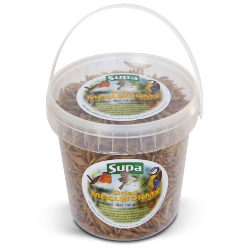 Supa Dried Mealworms (4 Tubs)