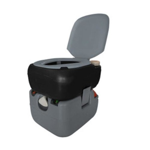 Reliance Products 2160021 6 Gal Portable Toilet 4822 - Black