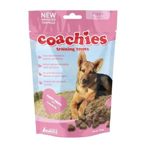 Coachies Puppy Treats 200g (Pack of 8)