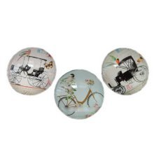 Set of 3 Vintage Old-fashioned Magnets for Whiteboard, Random Style
