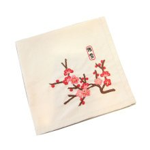 Embroidery Starter Kit with Pattern DIY Embroidery Handkerchief Meaningful Gifts