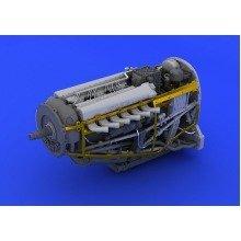 Edb648112 - Eduard Brassin 1:48 - Spitfire Mk.ix Engine