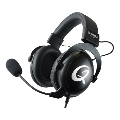 Qpad QH-91 High End Stereo Gaming Headset Closed Ear Noise Cancelling Detac QH-91