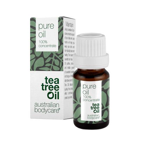 Australian Bodycare Tea Tree Oil 100% Concentrate Pure Oil 10ml