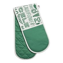 Porter Double Oven Glove - Green