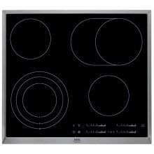 Touch Control Electric Ceramic Hob AEG HK654070XB
