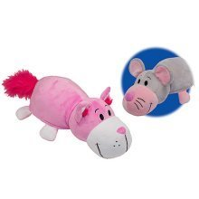 Flip a Zoo Reversible Soft Toy - Mouse to Cat
