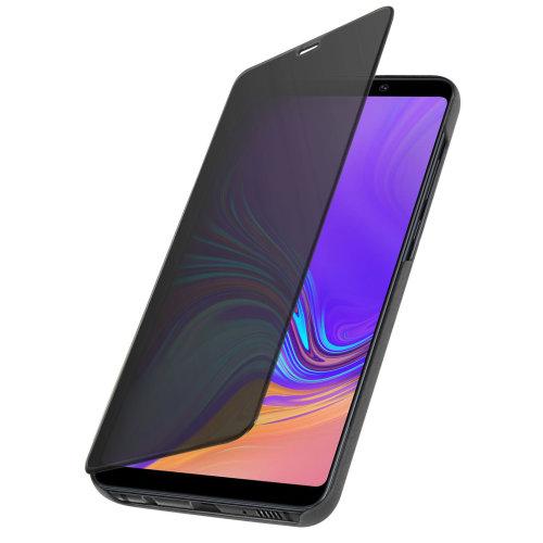 buy popular afbc4 ee461 Flip Case Mirror Case for Samsung Galaxy A9 2018 Standing Cover - Black