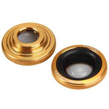 Excelvan Fish Eye Wide Angle Macro Telephoto 4-in-1 Universal Cat Clamp Photo Lens