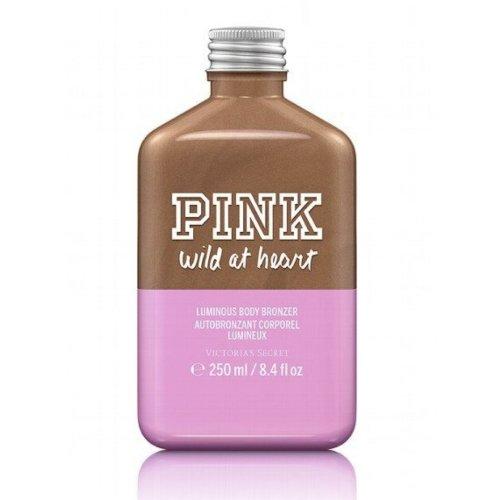 Victoria's Secret Pink Wild At Heart Luminous Body Bronzer 8.4 oz / 250 ml