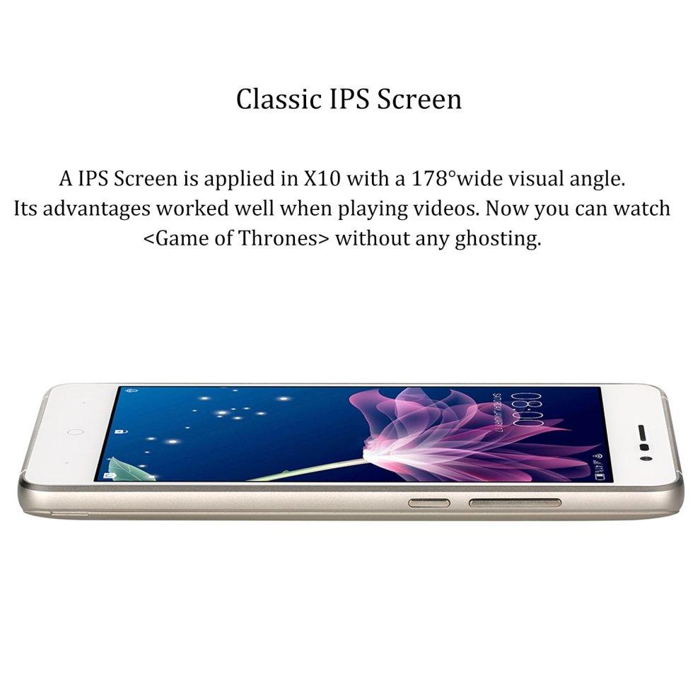 174f628ae180d5 ... SIM Free Smartphones, DOOGEE X10 Unlocked Dual SIM Mobile Phones - Gold  - 5 ...