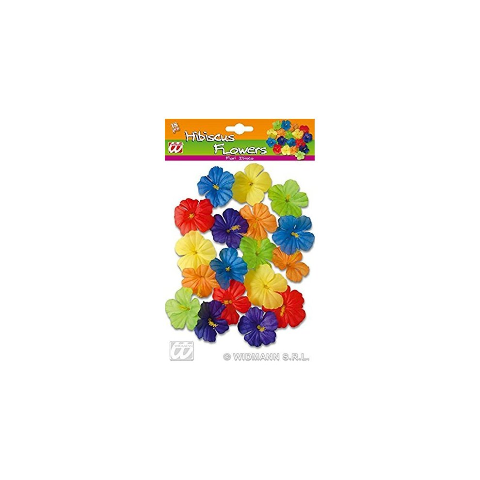 Hibiscus flowers 18pc accessory for tropical hawiian fancy dress hibiscus flowers 18pc accessory for tropical hawiian fancy dress hibiscus flowers 18pc accessory tropical hawiian izmirmasajfo