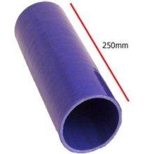 70mm Blue Straight Universal Silicone Hosing - Section 4 Ply Inside Diameter - Blue Universal Straight Section 4 Ply Silicone Hosing 70mm Inside