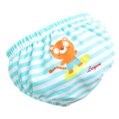Baby Toddler Reusable Swim Diaper Adjustable Absorbent Fits Diapers, A08
